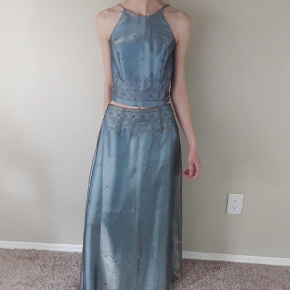 Dave & Johnny Dresses & Skirts - 💎Dave and Johnny 2 Piece Light Blue Dress